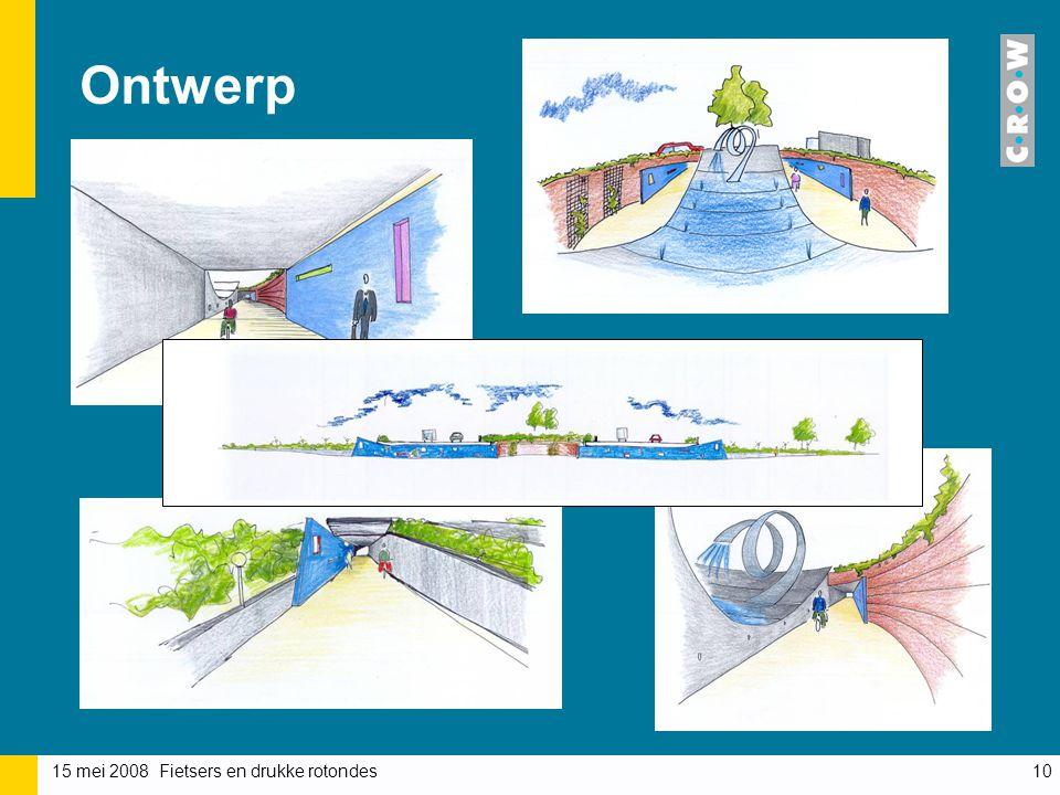 Ontwerp Een architect heeft een voorstudie gedaan naar de fietstunnels. Zorg onder andere voor sociale veiligheid.