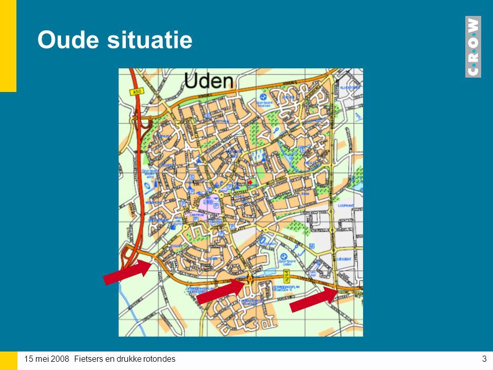 Oude situatie Uden in Noord-Brabant