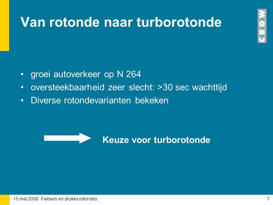 Van rotonde naar turborotonde