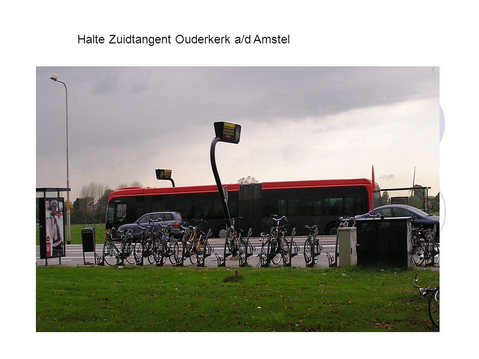 Halte Zuidtangent Ouderkerk a/d Amstel