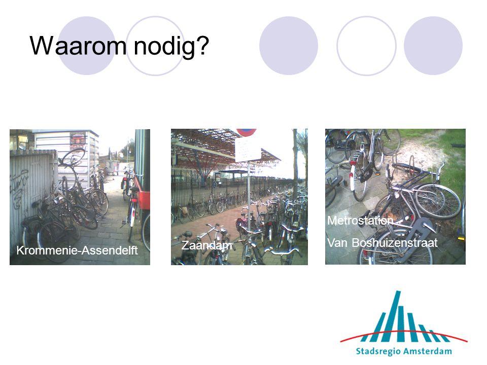 Waarom nodig Metrostation Van Boshuizenstraat Zaandam
