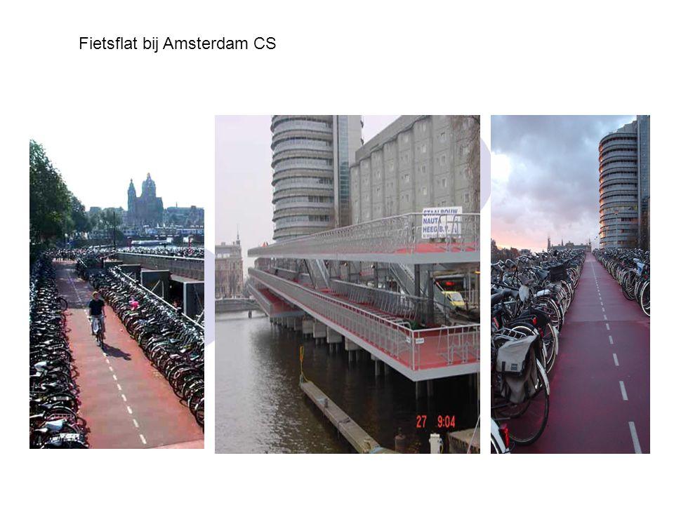 Fietsflat bij Amsterdam CS