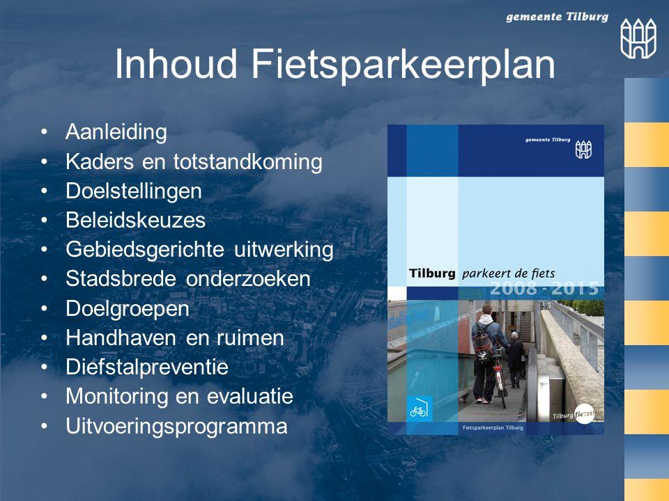 Inhoud Fietsparkeerplan