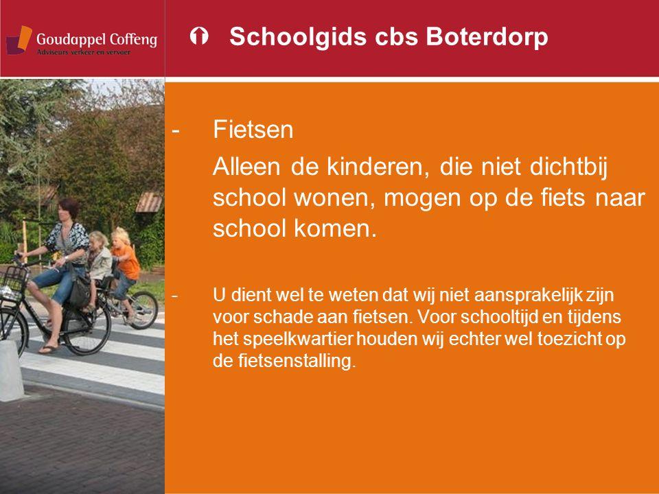 Schoolgids cbs Boterdorp