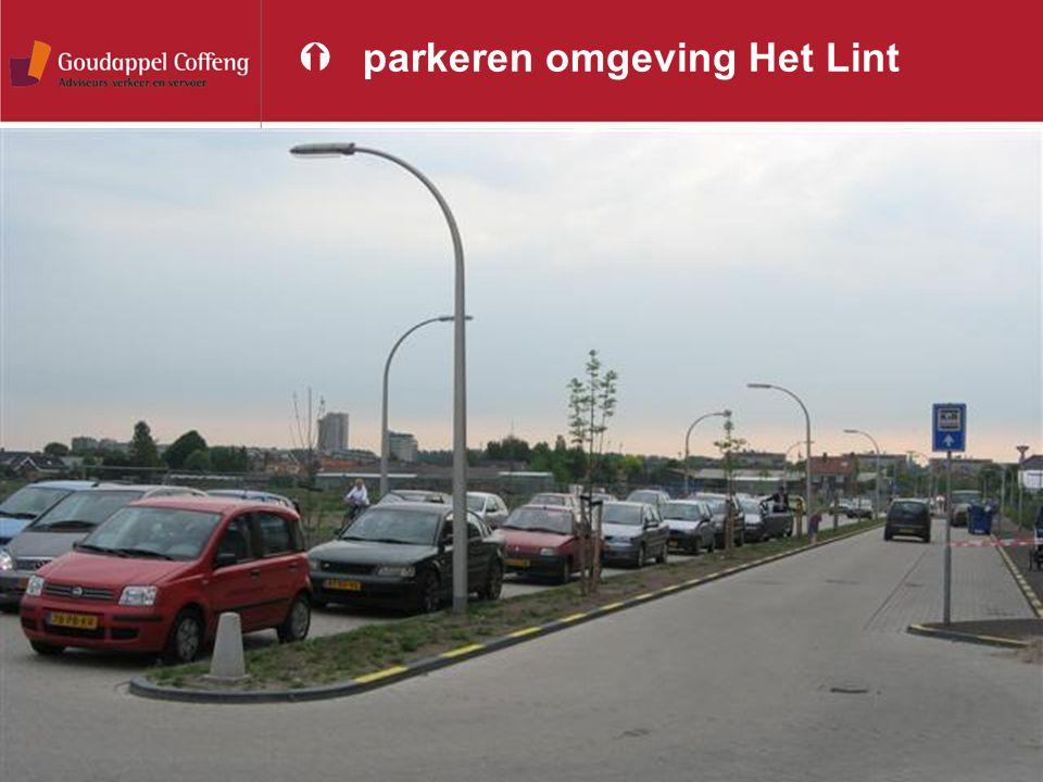 parkeren omgeving Het Lint