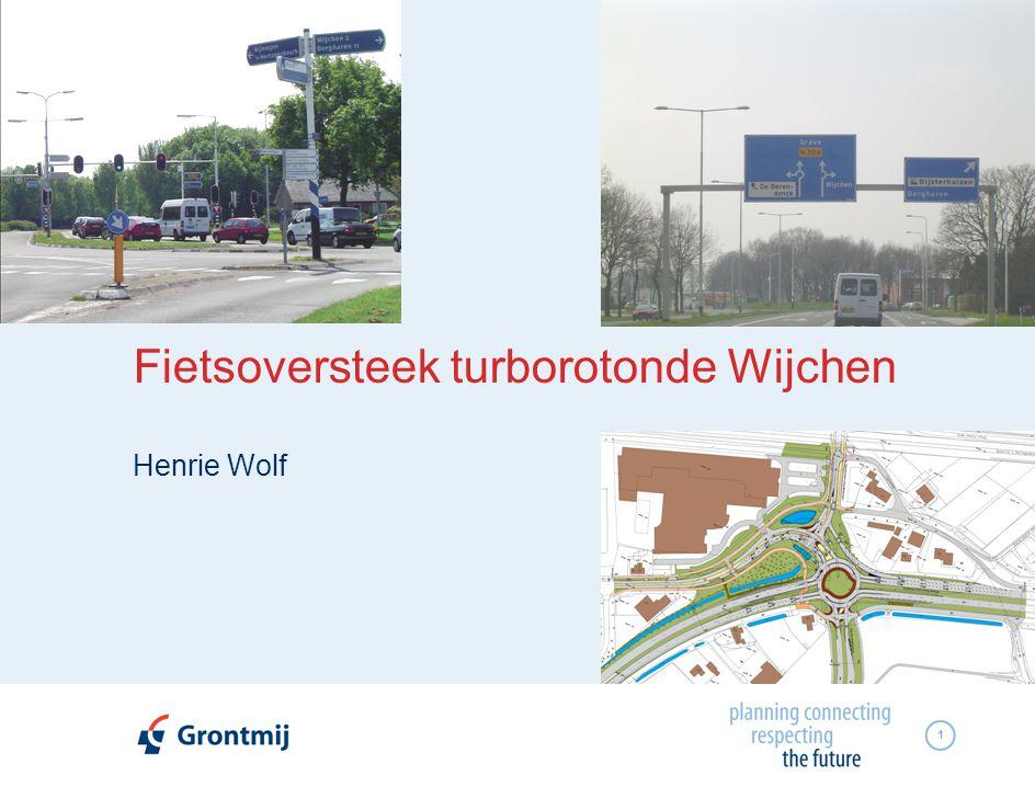 Fietsoversteek turborotonde Wijchen