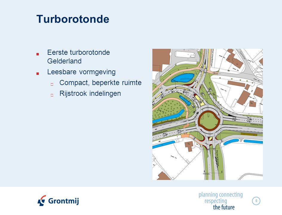 Turborotonde Eerste turborotonde Gelderland Leesbare vormgeving