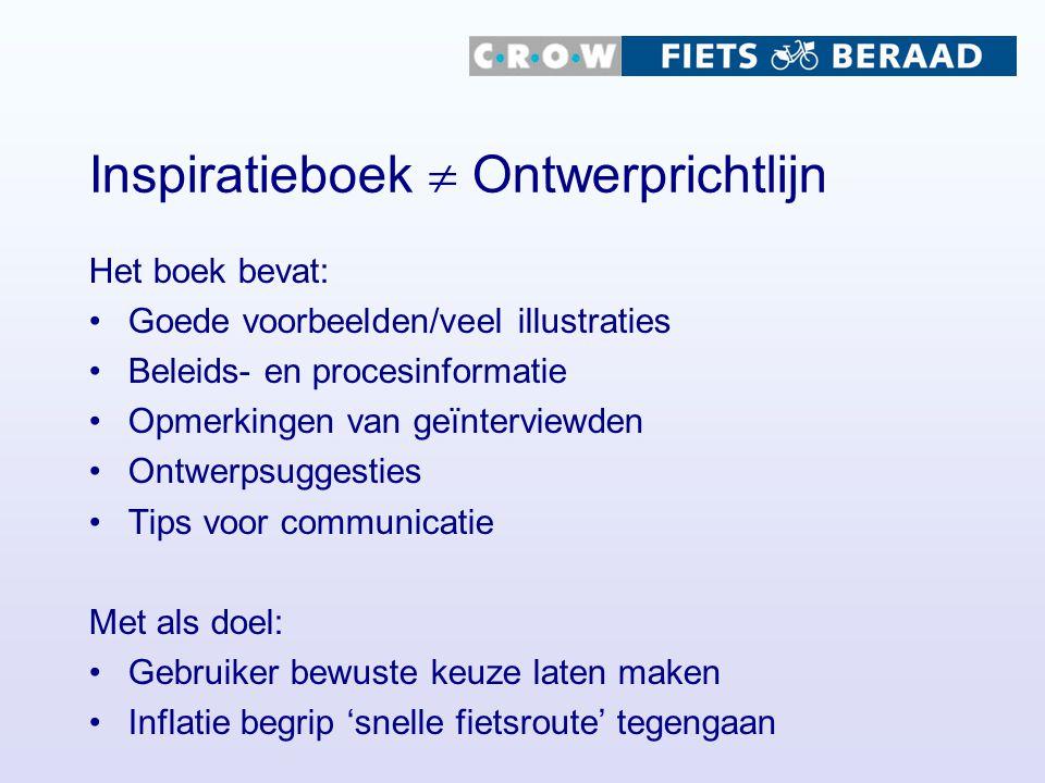 Inspiratieboek  Ontwerprichtlijn