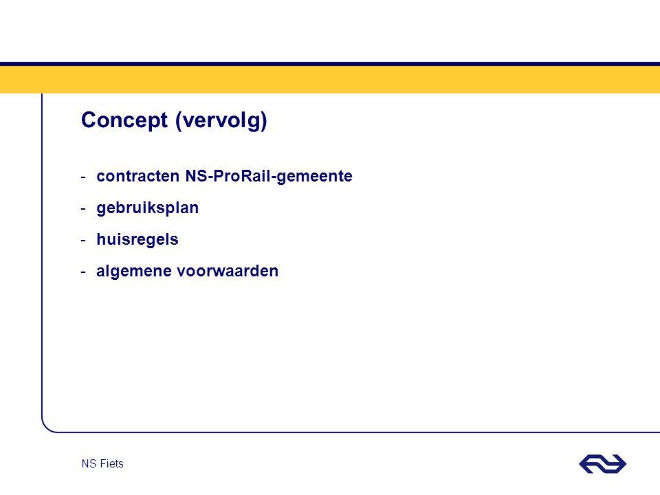 Concept (vervolg) contracten NS-ProRail-gemeente gebruiksplan