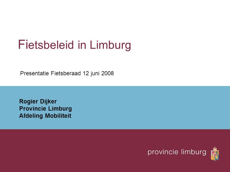 Fietsbeleid in Limburg