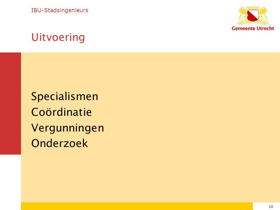 Specialismen Coördinatie Vergunningen Onderzoek