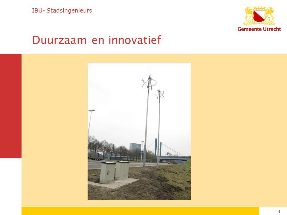 Duurzaam en innovatief