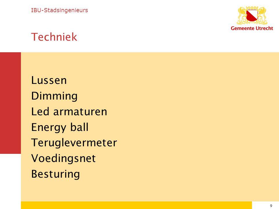 IBU-Stadsingenieurs Techniek.