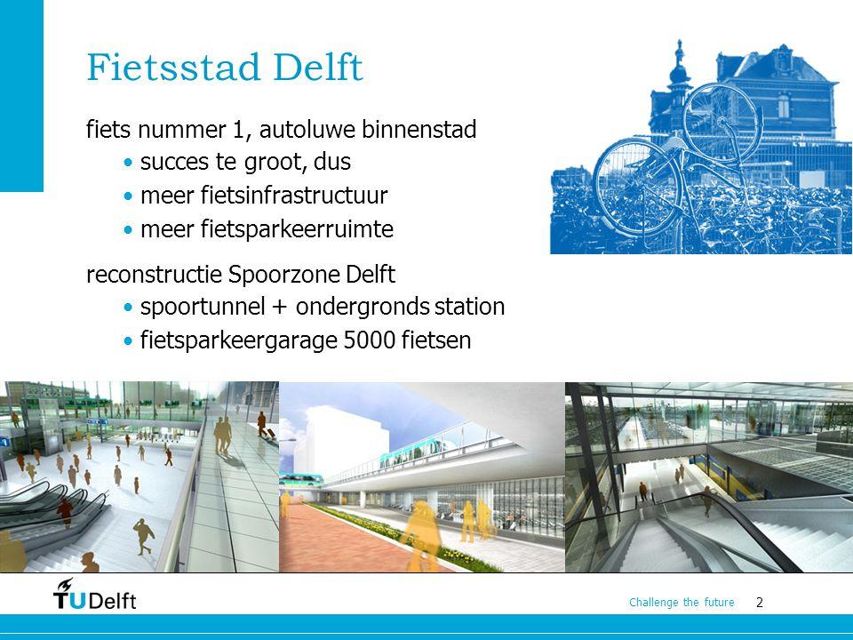 Fietsstad Delft fiets nummer 1, autoluwe binnenstad