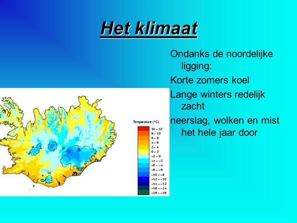 Het klimaat Ondanks de noordelijke ligging: Korte zomers koel