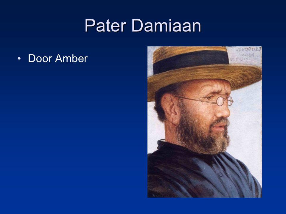 Pater Damiaan Door Amber