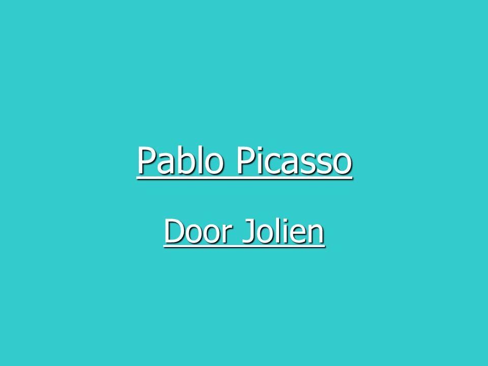Pablo Picasso Door Jolien