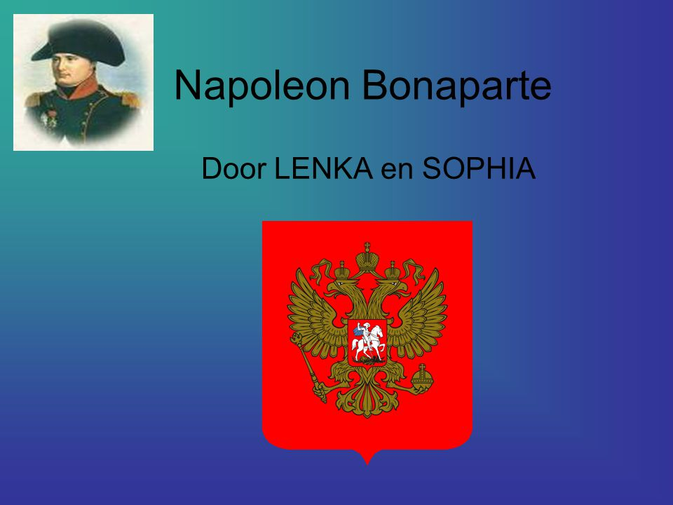 Napoleon Bonaparte Door LENKA en SOPHIA