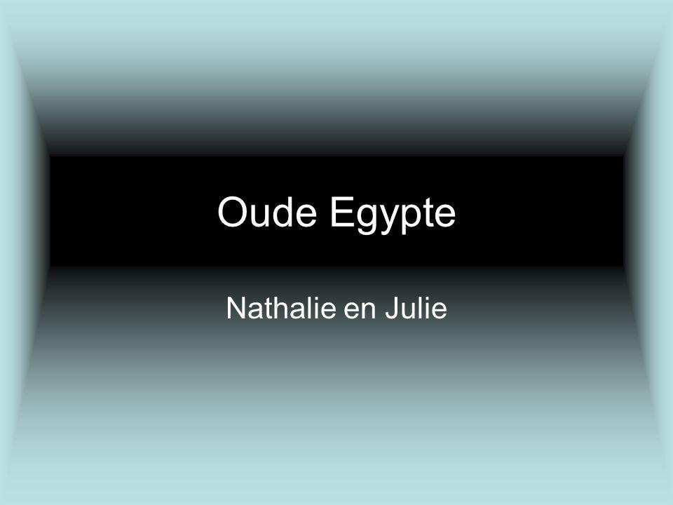 Oude Egypte Nathalie en Julie