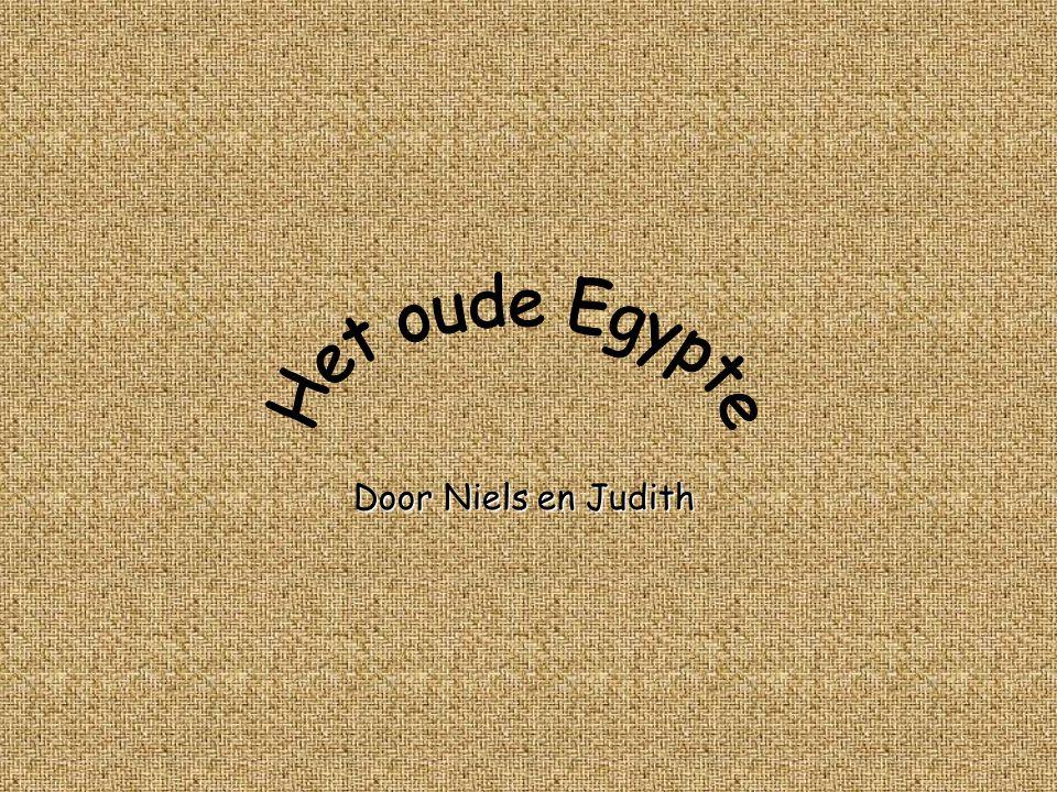Het oude Egypte Door Niels en Judith