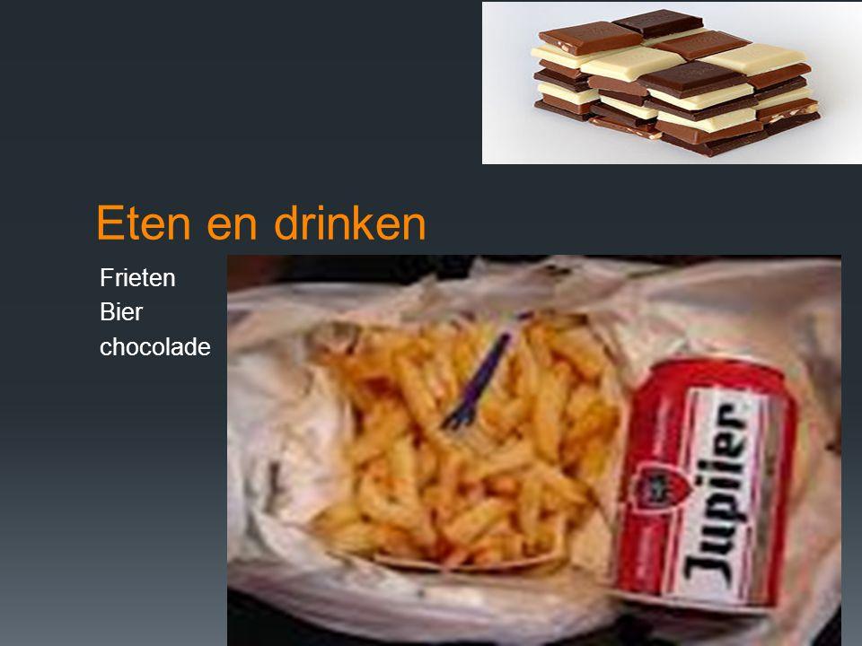 Eten en drinken Frieten Bier chocolade