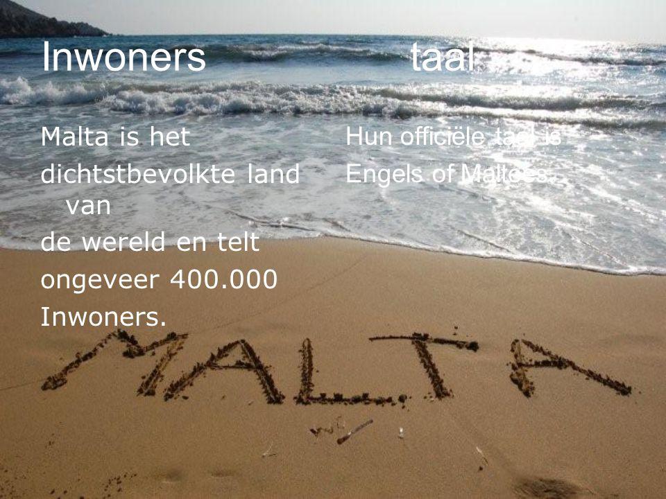 Inwoners taal Malta is het dichtstbevolkte land van de wereld en telt