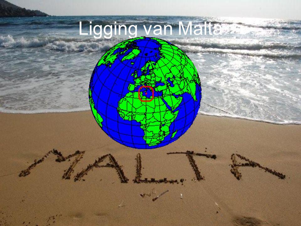 Ligging van Malta