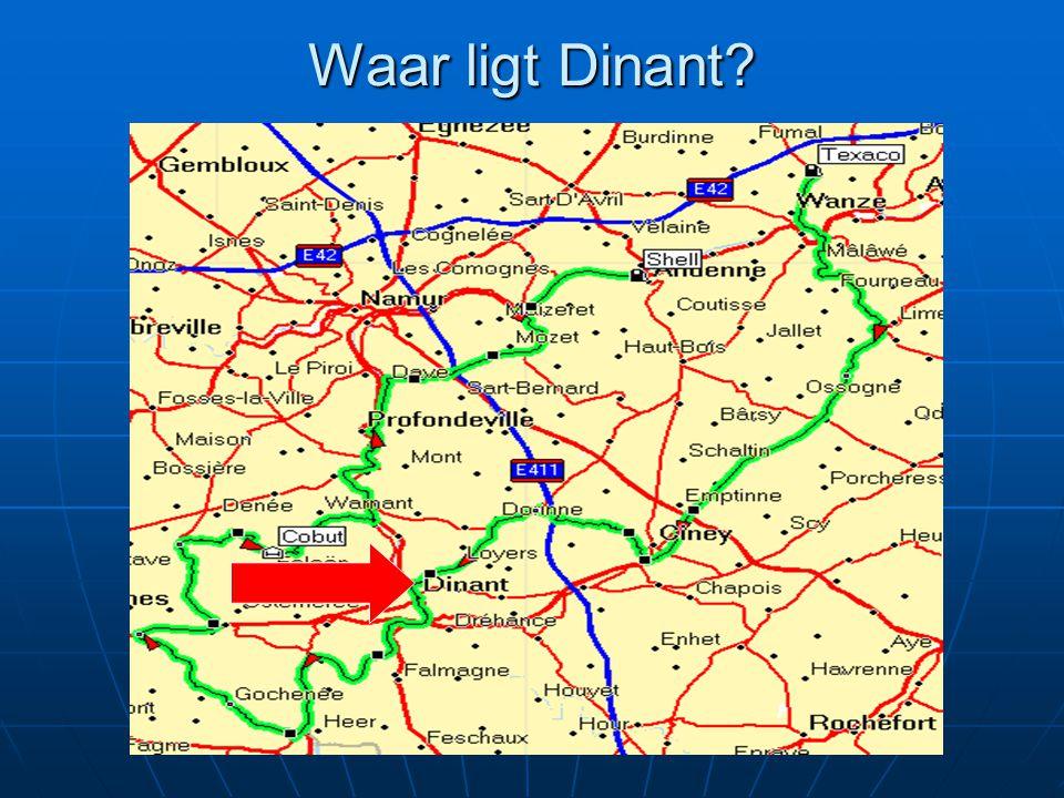 Waar ligt Dinant