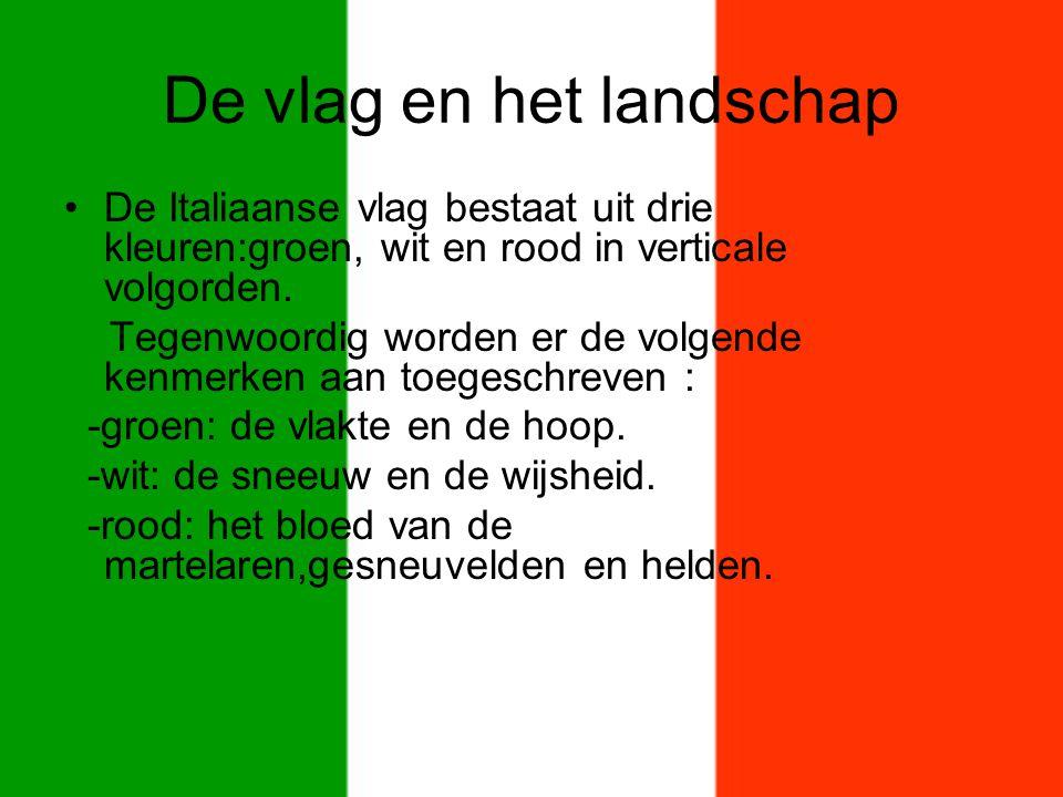 De vlag en het landschap