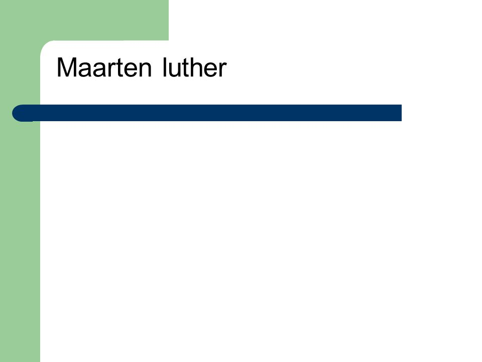 Maarten luther