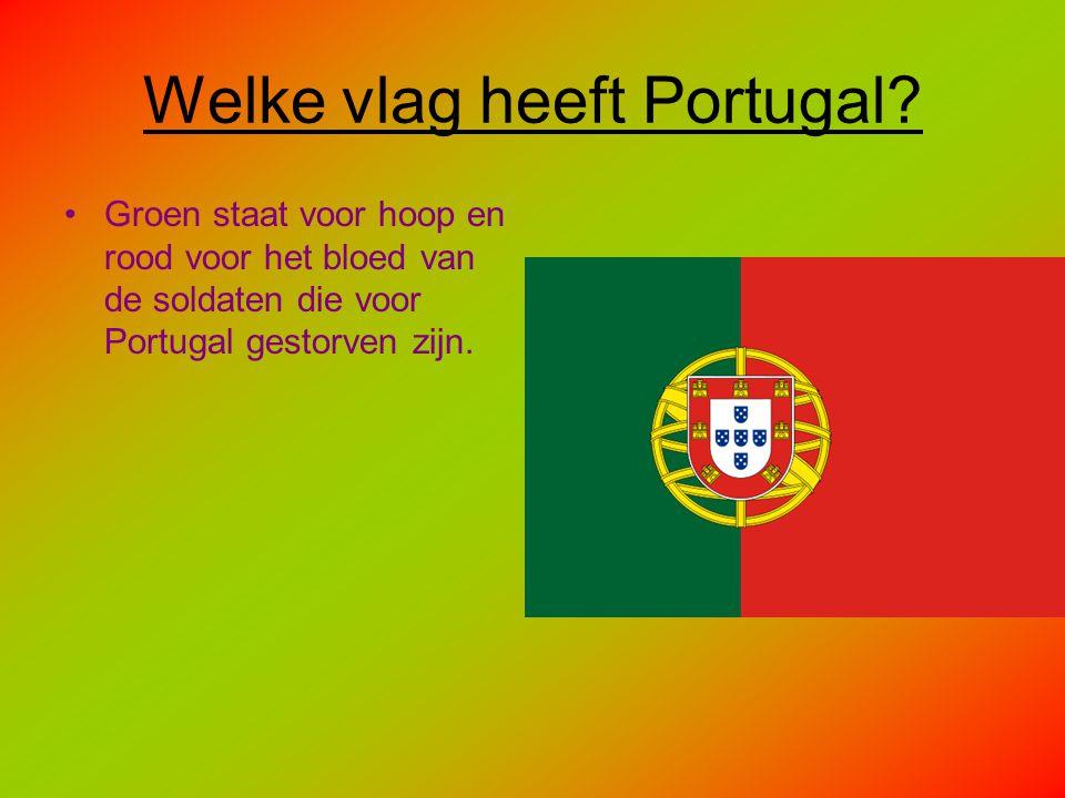 Welke vlag heeft Portugal