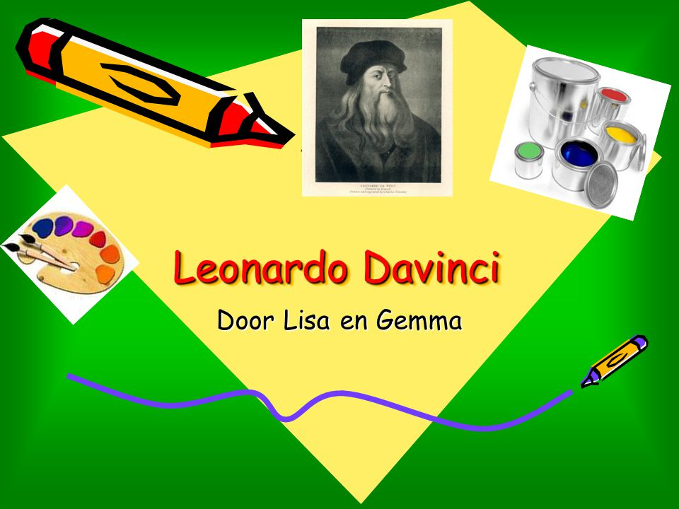 Leonardo Davinci Door Lisa en Gemma