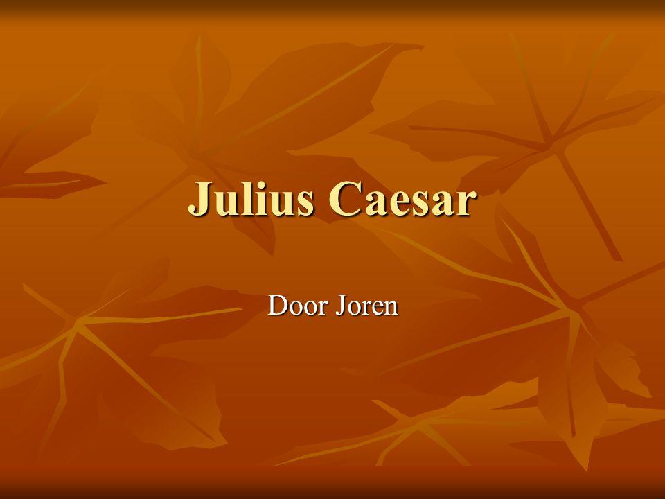 Julius Caesar Door Joren