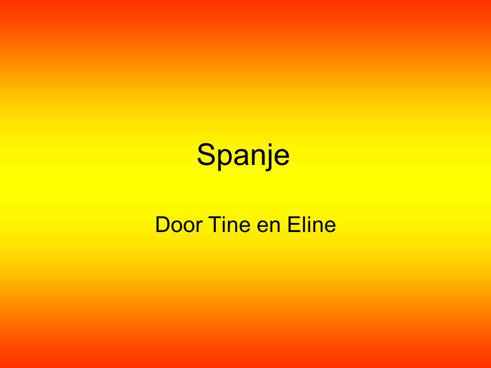 Spanje Door Tine en Eline