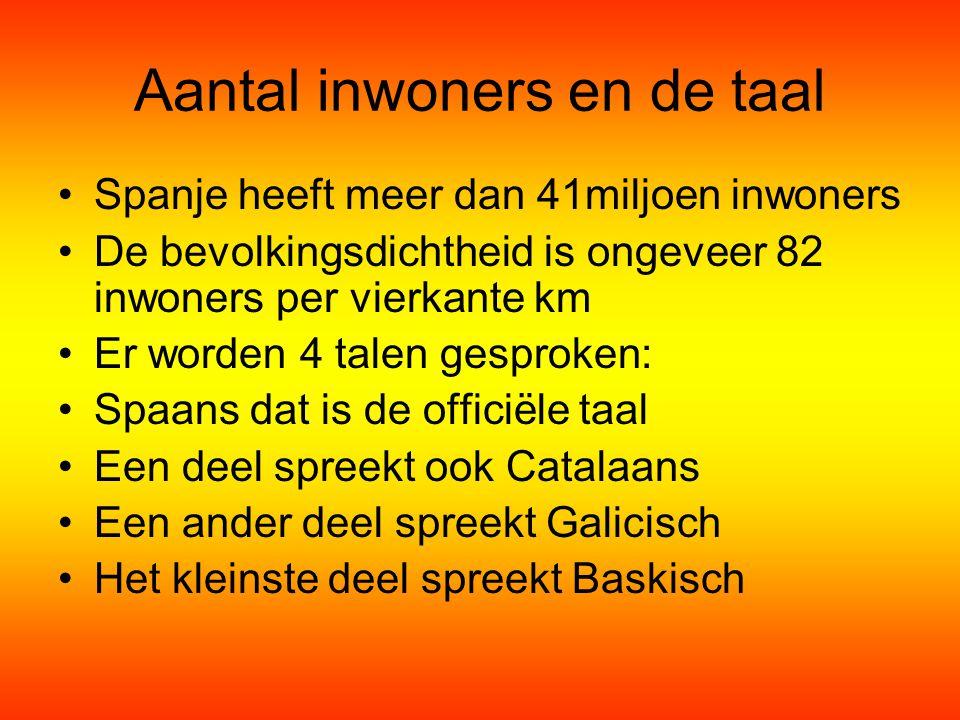 Aantal inwoners en de taal