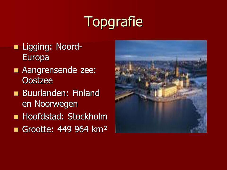Topgrafie Ligging: Noord-Europa Aangrensende zee: Oostzee