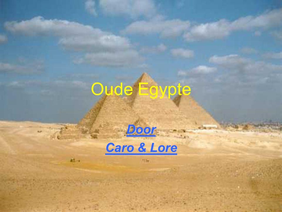 Oude Egypte Door Caro & Lore