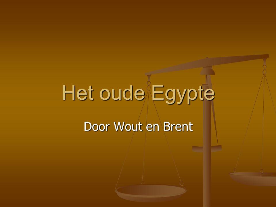 Het oude Egypte Door Wout en Brent