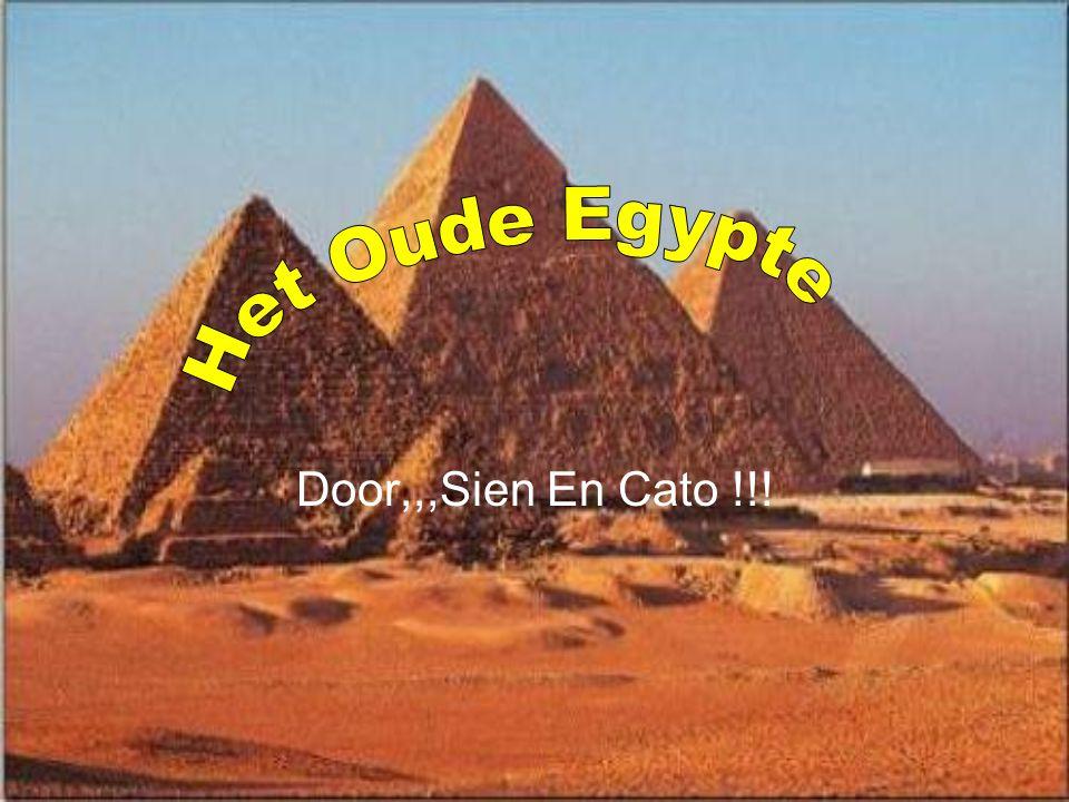 Het Oude Egypte Door,,,Sien En Cato !!!