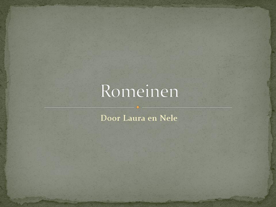 Romeinen Door Laura en Nele