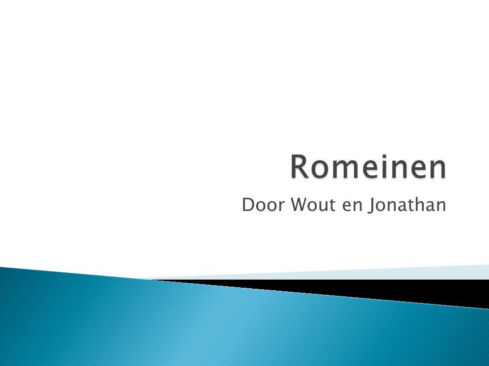 Romeinen Door Wout en Jonathan