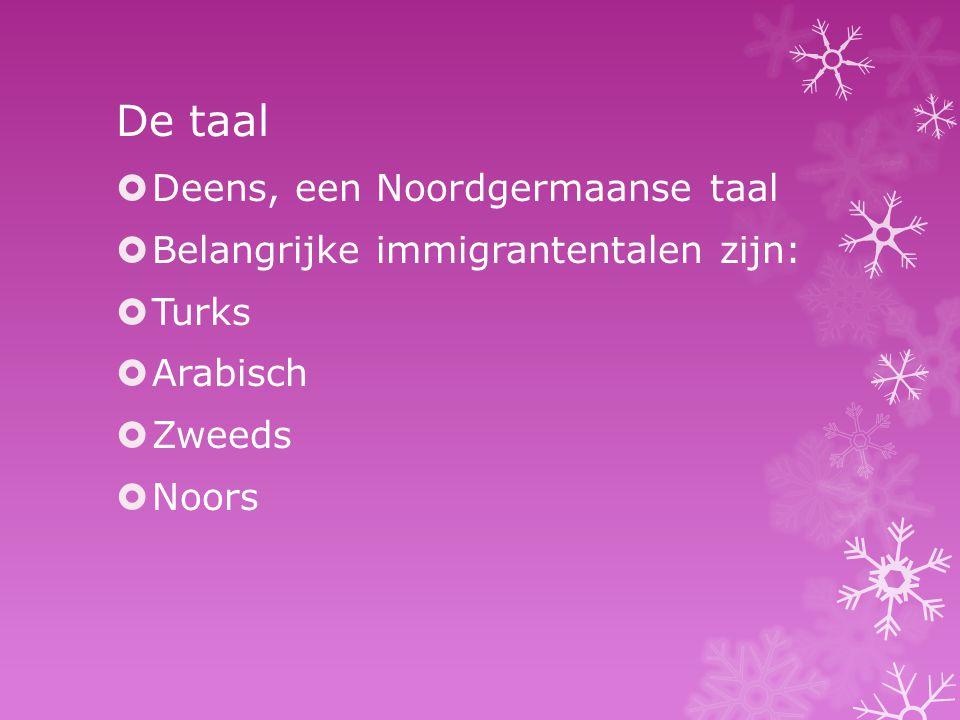 De taal Deens, een Noordgermaanse taal
