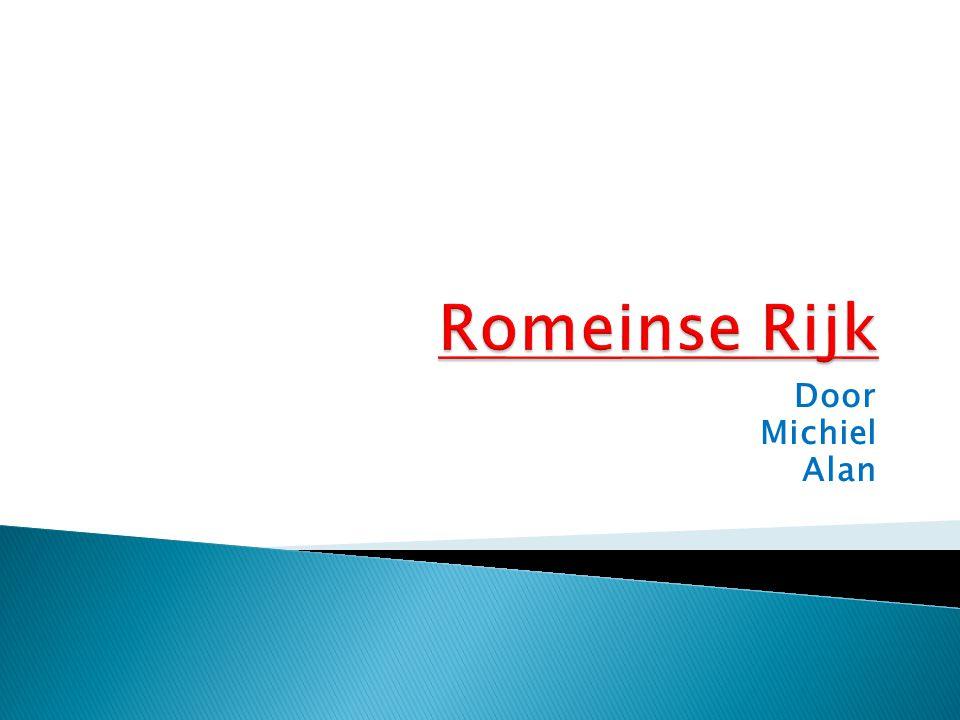 Romeinse Rijk Door Michiel Alan