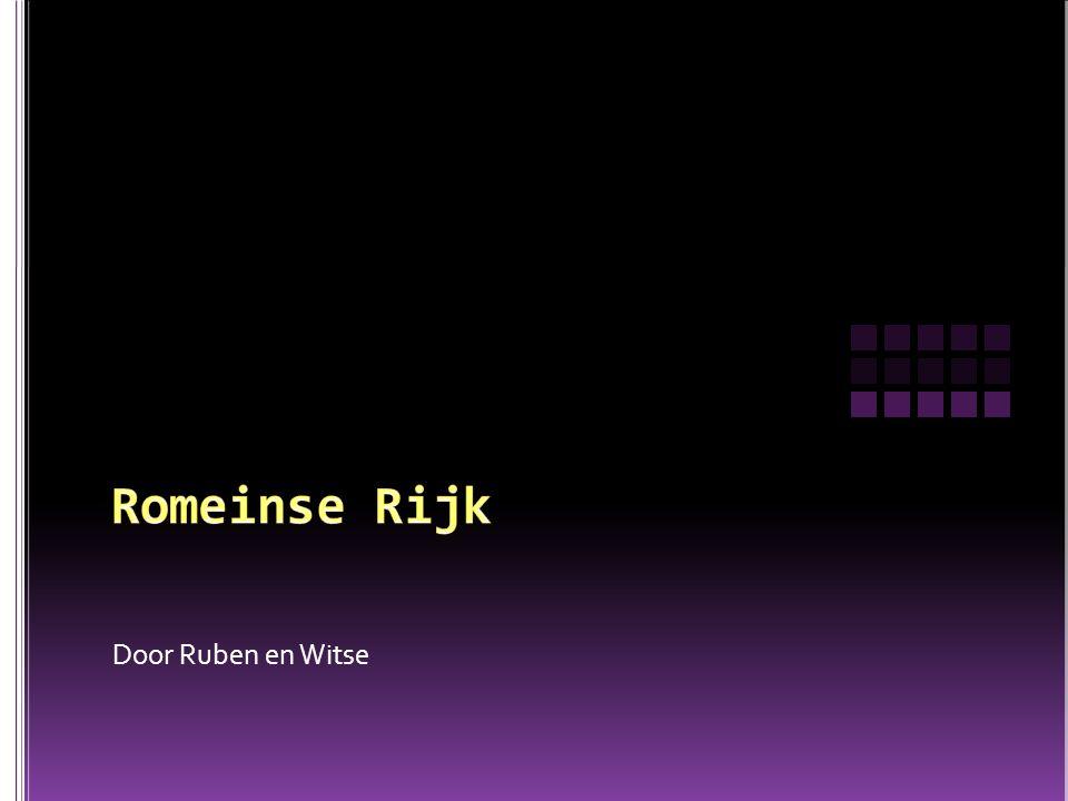Romeinse Rijk Door Ruben en Witse