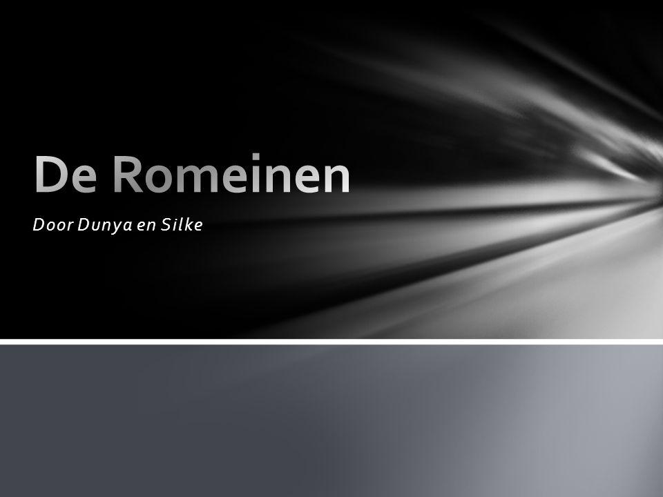 De Romeinen Door Dunya en Silke