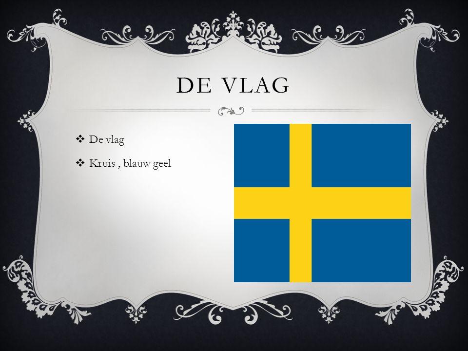 De vlag De vlag Kruis , blauw geel