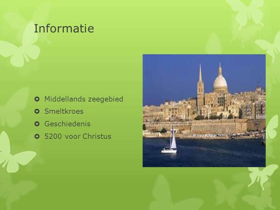 Informatie Middellands zeegebied Smeltkroes Geschiedenis