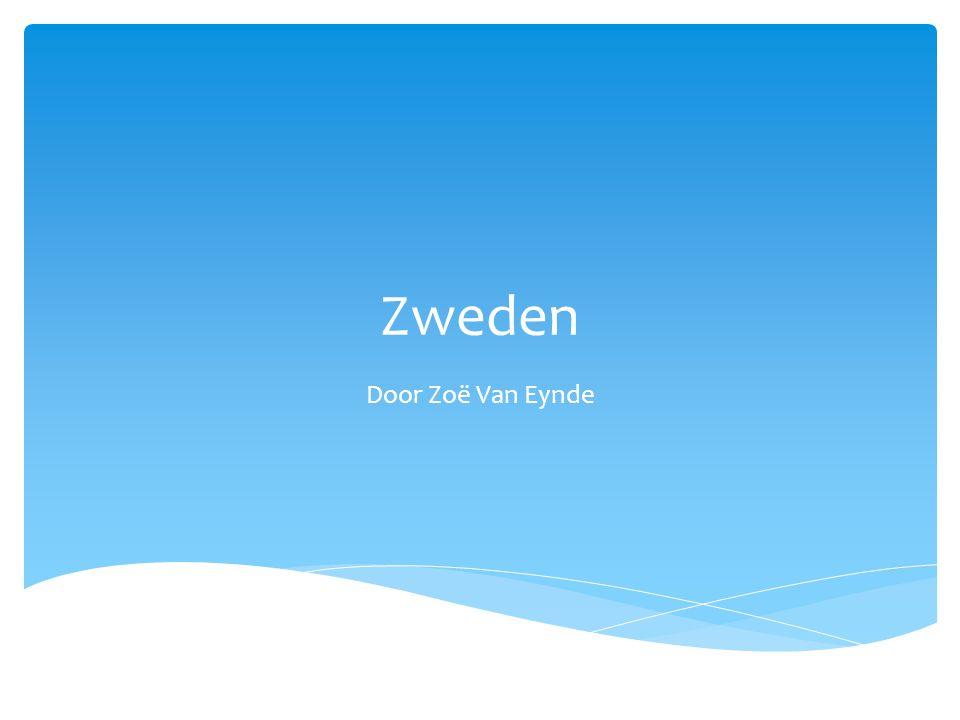 Zweden Door Zoë Van Eynde