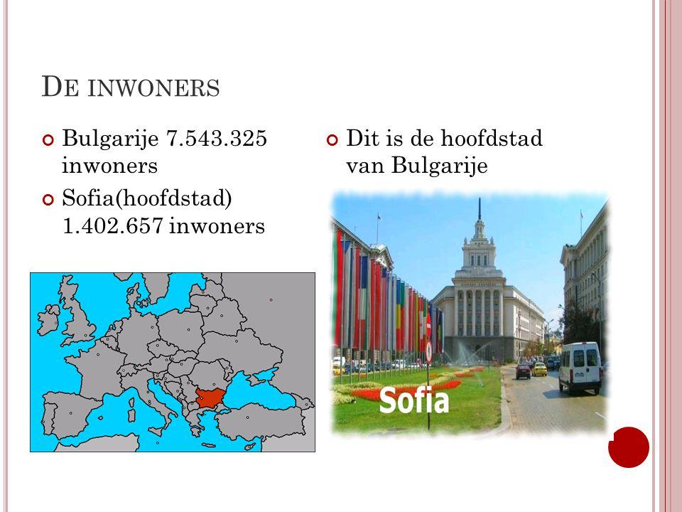 De inwoners Bulgarije 7.543.325 inwoners