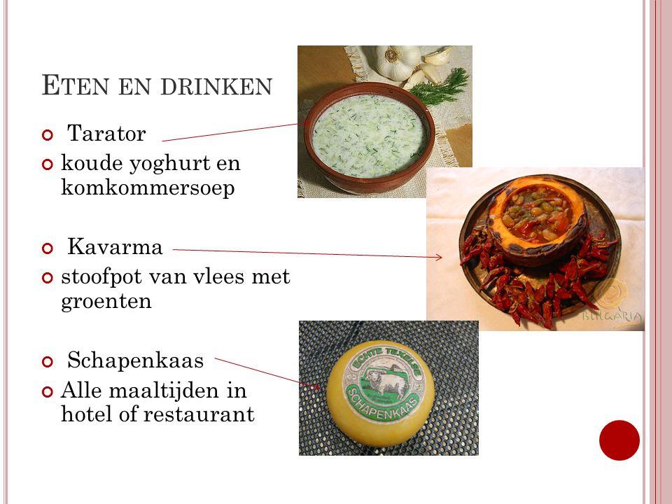 Eten en drinken Tarator koude yoghurt en komkommersoep Kavarma